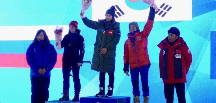 POW POW POW, Première médaille mondiale ! :D