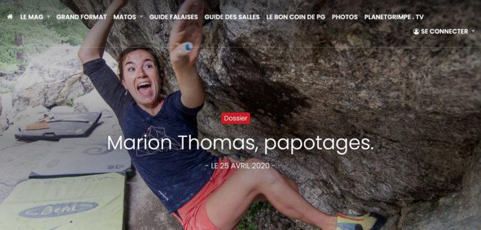 Marion Thomas Interview